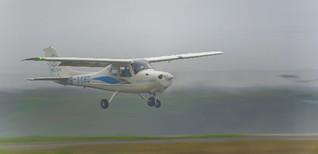 国内首款全玻纤复材四座固定翼飞机CG
