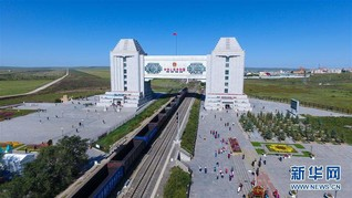 (社会)(4)内蒙古满洲里旅游人数持续上升