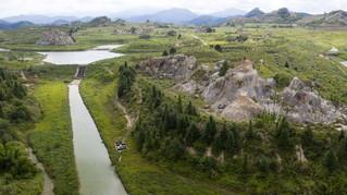 """(走向我们的小康生活·图文互动)(5)从废弃矿山到生态""""福地""""——江西寻乌战荒记"""
