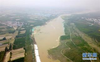 (图文互动)(4)永定河河北省廊坊段干涸25年后首次通水