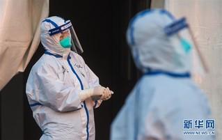 (聚焦疫情防控)(7)武汉体育中心方舱医院开始收治首批患者