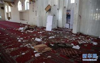 (国际)(3)阿富汗首都一清真寺遭爆炸袭击1人死亡