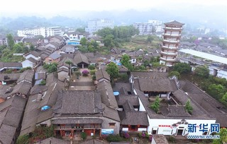 """(美丽中国)(1)重庆松溉:""""一品古镇 十里老街"""""""
