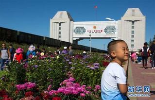 (社会)(2)内蒙古满洲里旅游人数持续上升
