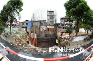 台江打铁港本月底完成清淤 年底前完成管道疏通