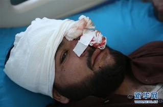 (国际)(1)阿富汗首都一清真寺遭爆炸袭击1人死亡