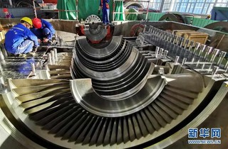 """(社会)(5)""""蒙电入鲁""""盛鲁电厂进入设备调试阶段"""