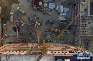 (聚焦疫情防控)(3)宁夏加快建设自治区第四人民医院传染病防治综合楼