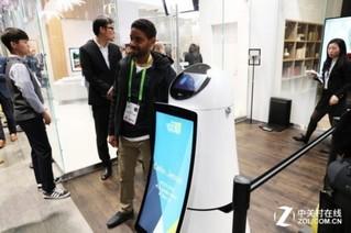 智能火爆 CES 2018 LG智能机器人搭载ThinQ平台