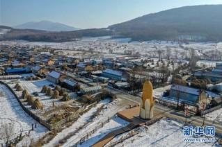 (社会)(1)吉林舒兰:小村屯的冰雪经济