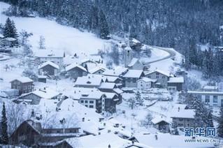 (国际)(2)瑞士山村清晨