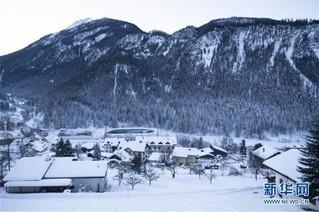 (国际)(3)瑞士山村清晨