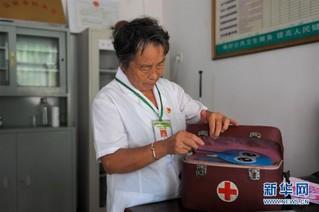 (图片故事)(5)山村女医生高银水:在平凡的岗位上默默奉献