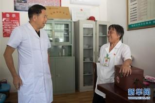 (图片故事)(12)山村女医生高银水:在平凡的岗位上默默奉献