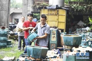 (图片故事)(2)变泥为器——一个农民的返乡创业故事