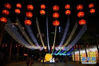 (文化)(3)香港举办中秋彩灯会