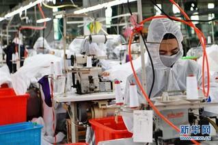(聚焦疫情防控)(2)福建莆田:加紧复工生产 确保防疫物资供应