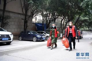 (聚焦疫情防控)(7)重庆:疫情下的乡村蔬菜配送小队