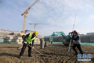 (聚焦疫情防控·图文互动)(6)战疫情 稳增长 强信心——北京复工日生产建设一线见闻