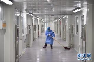 (聚焦疫情防控)(2)北京地坛医院隔离病区影像纪实