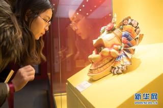 (文化)(3)西藏文物珍品亮相西子湖畔