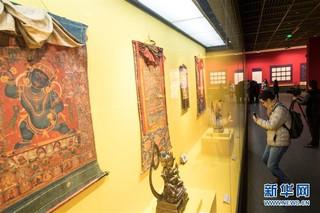 (文化)(4)西藏文物珍品亮相西子湖畔