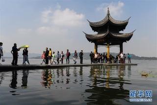 """(社会)(4)国庆假期杭州""""纳客""""逾1700万"""