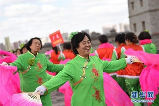 """#(社会)(2)山西大同万人""""舞动中国"""""""