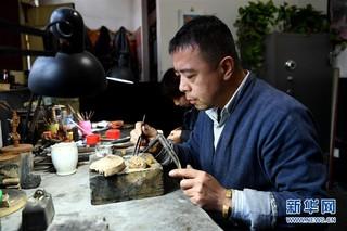 (社会)(1)平遥古城里的银匠艺人