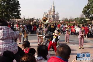 """(社会)(3)上海迪士尼乐园推出系列""""新年大餐"""""""