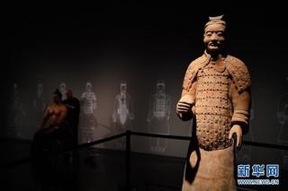 """(文化)(4)""""与天久长——周秦汉唐文化与艺术特展""""在北京举行"""