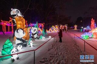(国际)(3)中国彩灯节在莫斯科开幕