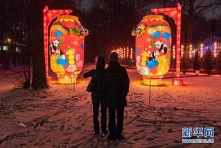(国际)(2)中国彩灯节在莫斯科开幕