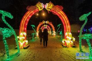 (国际)(5)中国彩灯节在莫斯科开幕