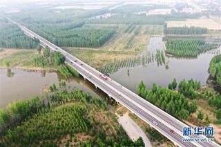 (图文互动)(3)永定河河北省廊坊段干涸25年后首次通水