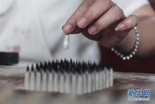 (文化)(2)浙江南浔:千年湖笔书写华美篇章
