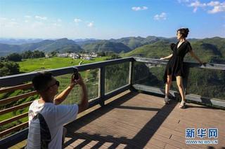 (新华视界)(1)贵州高坡夏日即景