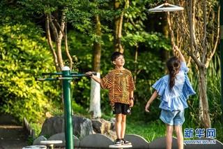(环境)(6)清凉度夏的观山湖公园
