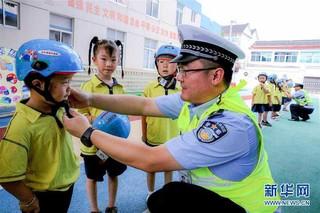 (社会)(1)浙江长兴:交通安全进校园