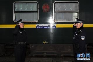 (社会)(8)中越国际客运列车十年的平安守护