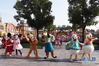 (图文互动)(2)上海迪士尼乐园将于5月11日起重新开放 实行限流和预约