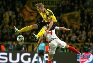 (体育)(5)足球——欧冠:摩纳哥队晋级四强