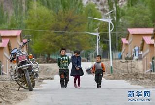 (脱贫攻坚)(6)新疆叶城:山村出行条件大幅改善