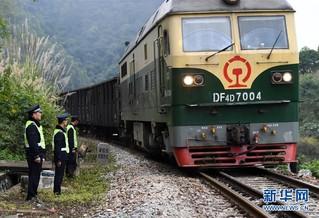 (社会)(9)中越国际客运列车十年的平安守护