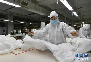 (聚焦疫情防控)(5)福建莆田:加紧复工生产 确保防疫物资供应