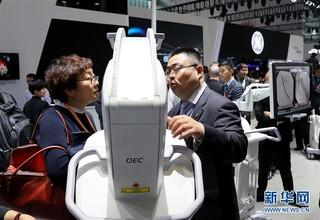 (经济)(5)中国国际医疗器械博览会在沪开幕