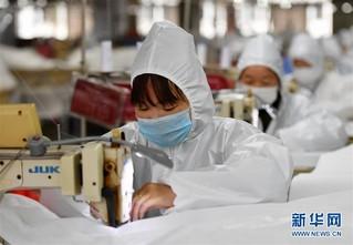 (聚焦疫情防控)(3)福建莆田:加紧复工生产 确保防疫物资供应