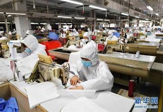 (聚焦疫情防控)(4)福建莆田:加紧复工生产 确保防疫物资供应