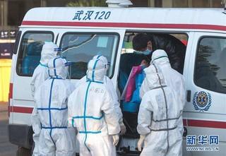 (聚焦疫情防控)(5)武汉体育中心方舱医院开始收治首批患者