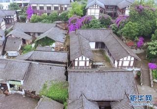 """(美丽中国)(2)重庆松溉:""""一品古镇 十里老街"""""""